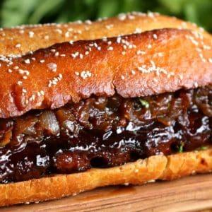 Pride Of The Southside Rib Sandwich