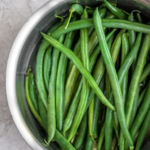 healthy green beans